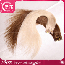 New Arrival Wholesale Virgin Brazilian Tape Hair Extension Factory Price 20 pieces/40 pieces 1 Pack Tape in Hair Extensions