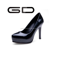 GD European sexy side empty paint fine with waterproof pointed high-heeled shoes work shoes club women's shoes