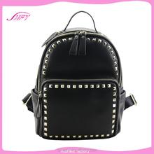 The most popular selling pu backpack european school backpack