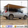 Beach awning with windbreak car side awning outdoor camping tents