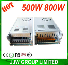 shenzhen factory 220v 12v 24v transformer 500w switching power supply