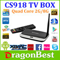 Mk888 ( K-R42 / CS918 ) Android 4.4 TV Box RK3188 Quad Core Mini PC RJ-45 WiFi XBMC best Android TV set top Box