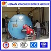 Top class manufacturer LPG gas and diesel boiler for sterilization milk plant