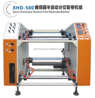 fast speed economical stretch film slitter machinery