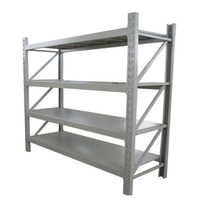 Heavy Weight Pallet Rack Warehouse Steel Racks Capacity Loading 200kg 4 Tyre Rack Storage Shelf