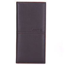 2015 hot selling purse male leather genuine leather wallet and bank card case