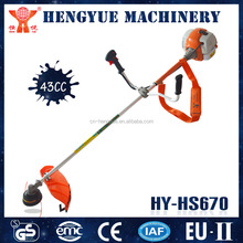 HY-HS670 ranch tools 43cc diaplacement grass cutter with 1E40F engines