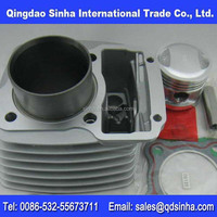 motorcycle block engine complete with piston kit and rock arm (CG125, CB125, BAJAJ, CD110, JH70, V80, TVS)