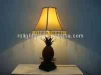 Pineapple Resin Table Lamp