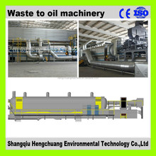 Fully automatic continuous pyrolysis waste tyre to furnace oil machine with 50% high oil output