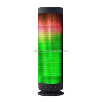 stereo bluetooth speaker with flash colorful led light