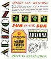 Heißer verkauf coustom Arizona sagen, es aufkleber 3d boden aufkleber