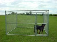 cute decorative cheap chain link dog kennels
