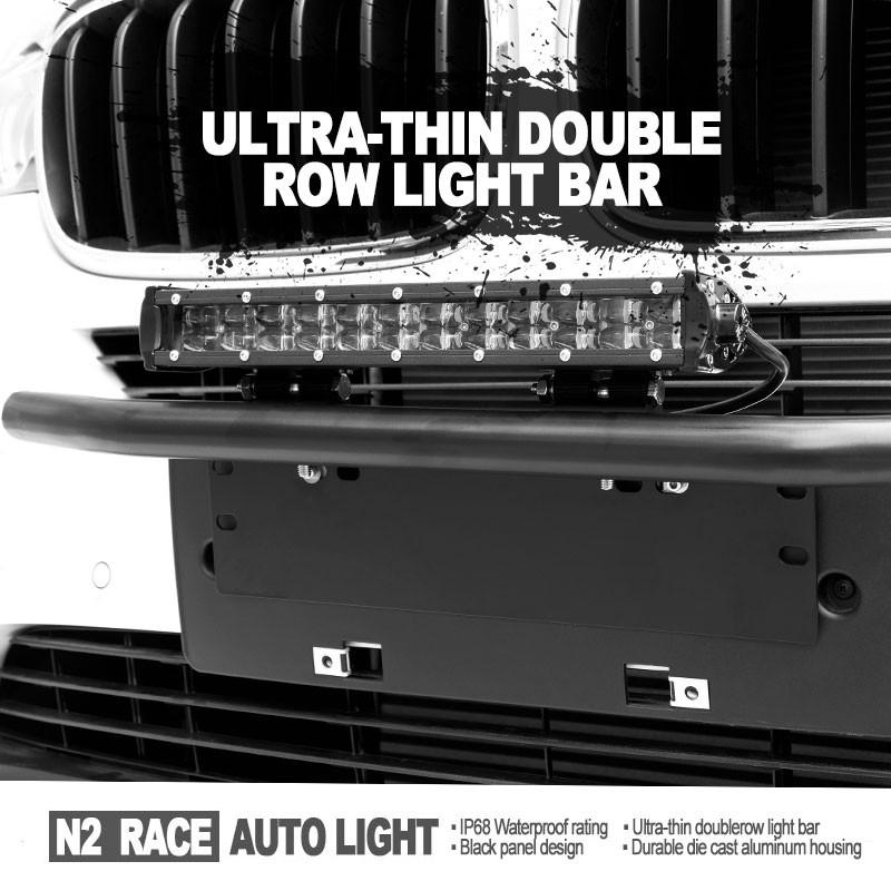 자동차 슬림 led 라이트 바 공장 도매 콤보 빔 주도 lightbar 36 와트 ...