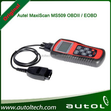 2015 New Autel MaxiScan MS509 OBDII / EOBD Auto Code Reader Fit For US&Asian & European Vehicles MS 509 Free shipping