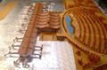 300 escala modelo aeroportuario fabricante arquitectónica / modelo de presentación