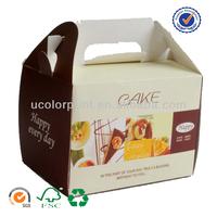 handmade cupcake take away box from U color