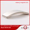 N45 door sealing strip neodymium magnet for electric motor
