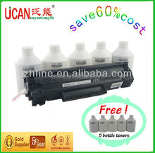 15000 pages 12A CTSC laser toner cartridge compatible for HP/Canon, refill > 5 times, no waste powder, materials of ready office