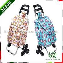 steel luggage cart fashional travel bag sports
