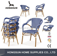 C221-DF Good quality cheaper aluminum frame weaving outdoor chair