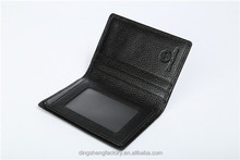 Best Seller Pu Leather Credit Card Holder Card Case For Men With Cheap Price
