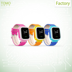 Hot selling sim card slot, mini and high sensitive watch phone chip, gps tracker kids