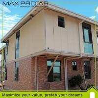New Type Prefabricated Luxury Steel Structure villa Houses