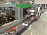 Tecon year 2006 paper bag production line for sale from owner in Tirana Albania at favorable price, in very good condition