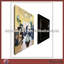 Wall Hanging Colored Lucite Acrylic Picture Framing Holder