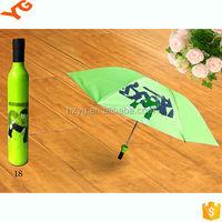 UV Protection Promotional Cheap Mini Rose Bottle Umbrella Rose Umbrella