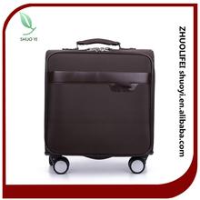 fashion style travel trolley luggage / lady and men high quality oxford fabric luggage