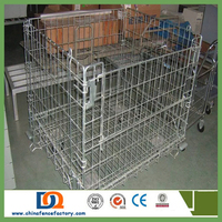 large steel aluminum plastic welded wire dog cage/sample is ok