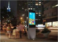 outdoor stands lcd advertising display software
