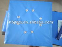 PVC tarps coated tarpaulin with eyelet 600g 1000*1000 20*20 pvc tarps laminated pvc fire retardant resistant tarpaulin