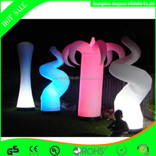 2015 Most popular custom inflatable led light for party decoration