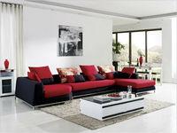 latest design modern fabric wooden german sofas