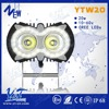 More visible More brighter 10w*2pcs projector lens light truck parts headlight high power led driving lights