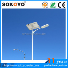High quality 60W Led Solar Street Light price with CE,ROSH,SASO,IEC61215,IEC60598 certified