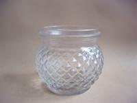 Glass jar/Glass candle jar/Glass candy jar/Wholesale glass jar/Glass spice jar