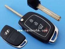 Novel Item &Promotion Hyunday 3+1 button remote key shell for hyundai car key