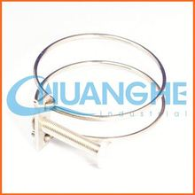 Made in china rubber cushioned fixing hose clamps