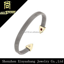 New equilibrium gold plated latest designs women bangle