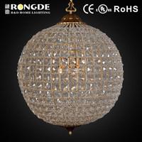 Modern Lustre round crystal ball chandelier