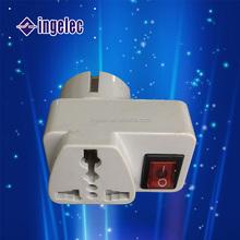 World Universal AC power socket converter plug adapter US/EU/UK/AU plug
