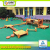 china elegant high quality outdoor wooden playground