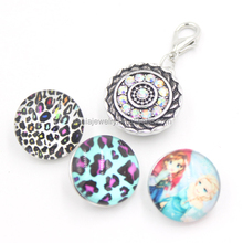 Fashion Interchangeable Pendant Charm, 18mm Ginger Snap Button Snap Charm for Snaps Button
