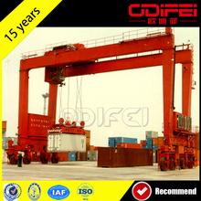 Popular Rubber Tyre Container Handling Gantry Cranes