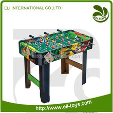 Plastic middle football game table football player toys