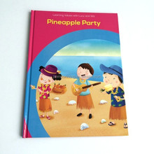 Hight quality custom hardcover book printing in China